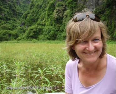 Ingrid Plank, Autorin und Gründerin von www.deutsch-to-go.de